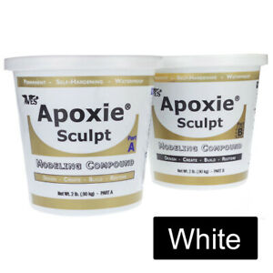 Aves Apoxie Sculpt - Modelling Compound 4lb Kit in White