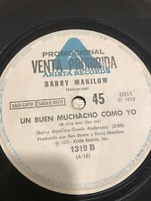 BARRY MANILOW ES MI CANCION ES MI CANCION 7 ARGENTINA PROMO ARISTA 2205 S 1975