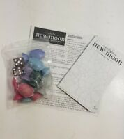 Twilight New Moon Board Game 2009 Replacement Game Pieces Dice and Pad