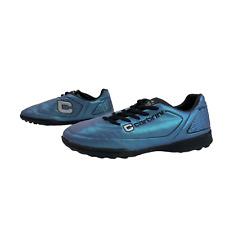 CARBRINI Mens Boys Football Trainers Size UK 5.5 EU 38.5 Purple Soccer Shoes
