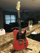 New listing LeClair Telecaster Custom,Fiesta Red,Double Bound. Made in the USA, Vintage HSC