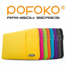 "POFOKO Laptop Sleeve Case Bag Cover Pouch Apple Macbook Pro Air 11 12 13 15"" Mac"
