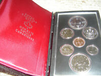 1978 Canada Double Dollar Set (7 Coins Cent to Silver Dollar Mint Set)