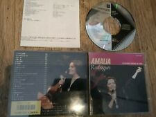 Amalia Rodriguez Emi Black Triangle CD 1986 Estranha Forma de Vida