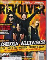 Revolver Magazine Mastodon Slayer Lamb Of God AFI August 2006 051419nonr