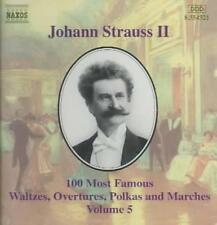 JOHANN STRAUSS, JR.: 100 MOST FAMOUS WALTZES, OVERTURES, POLKA AND MARCHES, VOL.
