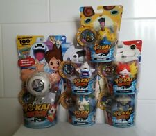 YO-KAI WATCH and figures with medal x5
