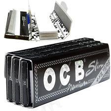 OCB Longpapes mit Filtertips Slim Filter Tips Blättchen Long Papers (3 Heftchen)