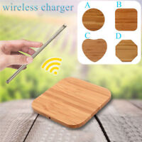 Fast Qi Wireless Charger charging Pad for Samsung Galaxy Apple iPhone 8 8Plus X