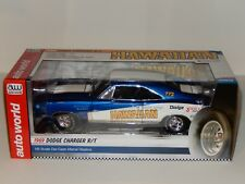 "1:18 Scale Ertl/Auto World ""Hawaiian"" 1969 Dodge Charger R/T, Item # AW231/06"