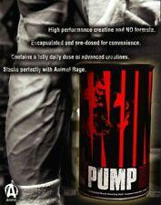 Universal Nutrition Animal Pump 30 Packs Pre-Workout Muscle Build & Size Pump.