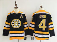 Replica Vintage Bobby Orr #4 Boston Bruins Jersey