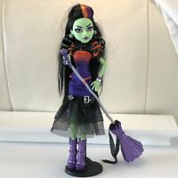 Monster High Doll Casta Fierce Witch Accessories Broom Microphone 2014