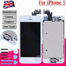 Replacement LCD Touch Screen For iPhone 5 White Full Assembly Display Digitizer