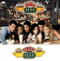 Friends TV Series Central Perk Enamel Clutch Metal Logo Pin Badge