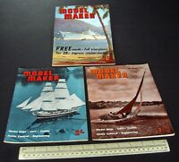 1960 Vintage Model Maker Magazine x 3. Ships Cars Yachts Adverts Engineering #1