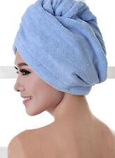 Microfiber Towel Quick Dry Hair Magic Drying Turban Wrap Hat Cap Bathing Fashion
