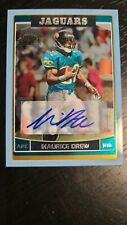 2006 TOPPS CHROME MAURICE JONES DREW (JAX) /50 AUTOGRAPHED BLUE REFRACTOR RC