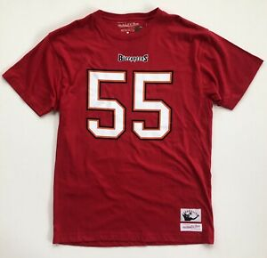 Derrick Brooks Tampa Bay Buccaneers Mitchell Ness Throwback Player Shirt Medium