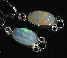 Top Brasil Opal 7 Karat Ohrhänger 925er Silber Unikat