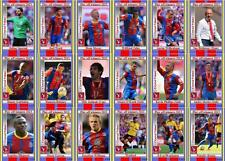 Crystal Palace 2013 Football League Playoff final winners trading cards