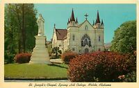 St Joseph Chapel Spring Hill College Mobile Alabama AL Postcard