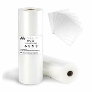 Wevac Vacuum Sealer Bags 11x50 Rolls 2 pack for Food Saver Seal a Meal Weston