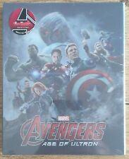 Novamedia NC#007 Avengers: Age of Ultron Steelbook Blu-Ray Lenticular NEW&SEALED