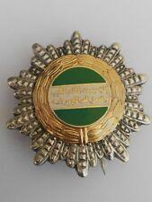 Libya Arab Jamahiriya Order Of Good Workmanship Breast Star Medal Badge Qaddafi