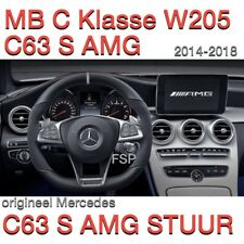 W205 C class W253 GLC 63 AMG Performance Steering Wheel Alcantara Mercedes F1
