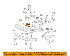 GM OEM Front Bumper-Inner Bracket Right 15838205