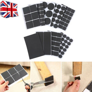 Non Slip Self Adhesive Floor Protectors Chair Leg Pads Table Rubber Pads Feet C