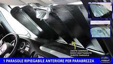 PARASOLE PER AUTO UNIVERSALE TAGLIA L CON VENTOSE RIPIEGABILE DA SOLE CRUSCOTTO