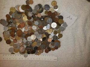 World Foreign Coins A Little Over 5 Lbs. Pounds, Very Nice Mix. Lot #2