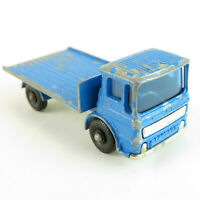 1960's Site Hut Flatbad Truck Lesney #60 Matchbox VTG Toy Car - Missing Hut