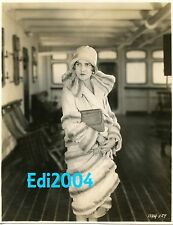 RUTH TAYLOR Vintage Original LinenBk 1928 Photo & RARE Autograph Card with note