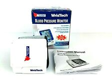 Wristech Blood Pressure Monitor By North American Healthcare 017874146307