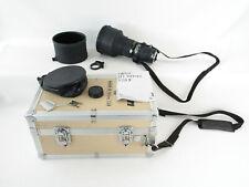 Nikon AiS ED Nikkor 300mm 1:2.8 Objektiv lens 9 blades + hood und case