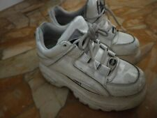 USED AND EXTRA DIRTY BUFFALO, WOMEN WORN SHOES, SNEAKERS USATE DA DONNA