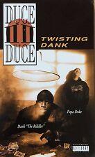 Duce Duce - Twisting Dank Cassingle 1995 PROMO Ultra Rare G Rap Cali Tape