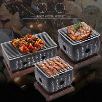Mini BBQ Grill Charcoal Grill Aluminium Alloy Portable Barbecue Tools Japanese