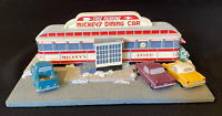 """Danbury Mint """"Mickey's Diner"""" Exclusive American Diner Collection COA ~Excellent"""