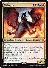 MALFEGOR Commander Anthology MTG Gold Creature — Demon Dragon Mythic
