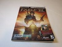 Fable III BradyGames Staff 2010 Paperback game guide strategy signature series