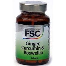 FSC Ginger, Curcumin & Boswelia 120 Tablets **BUY 1 GET 1 FREE*