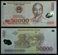 VIETNAM 2009. 50000 DONG SC  (P.121) POLIMERO. POLYMER UNC