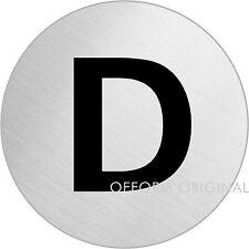 """OFFORM Türschild l Toilettenschild l """"WC Damen"""" l Ø 75 mm l Nr. 8475"""