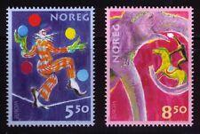 2002 Norway Europa CEPT Circus MNH
