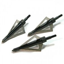 3x 125grain BROADHEADS ARROW heads archery display tips