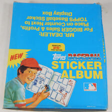1981 Topps Baseball Sticker Album Box (12-Albums in Box)